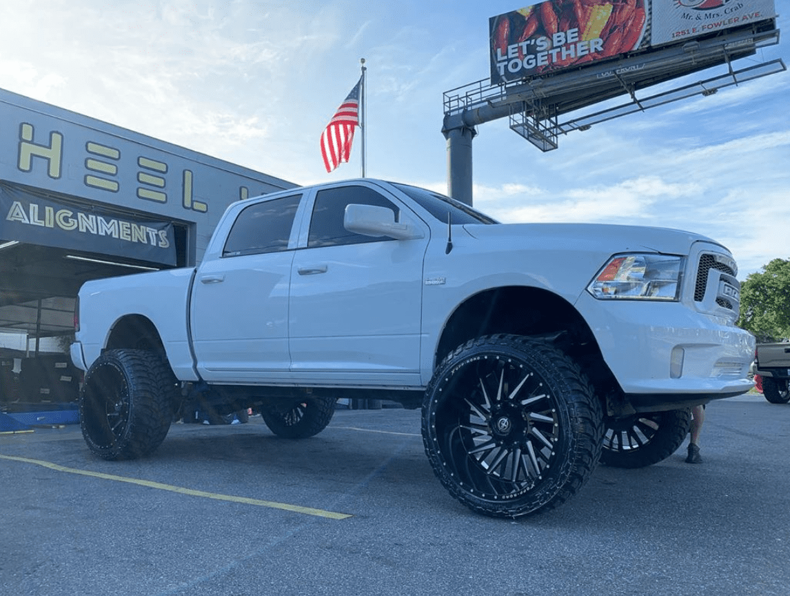 Awesome Wheels To Fit Dodge Ram Trucks