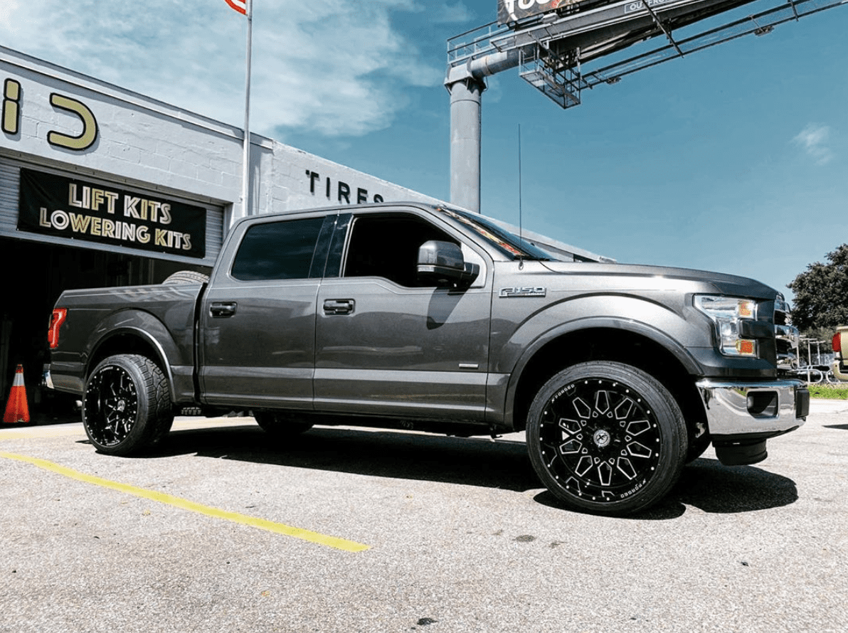 What 4x4 Wheels Are Good For Ford Trucks?